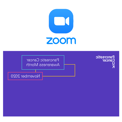 PCAM Zoom background in reverse